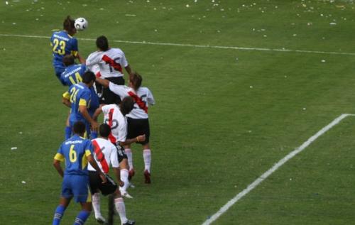 Boca Juniors  1-1 River Plate - Dimanche 26 Mars 2006, Buenos Aires - Photo : N. Deltort