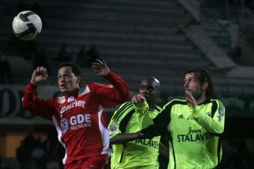 A l'image de Karim Aït-Fana, le jeune espoir pailladin qui confirme cette saison, le MHSC peut encore aller plus haut (photo N. Deltort)