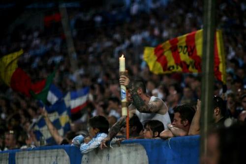 Rien n'y a fait. L'OL a certainement enterré les chances de titre de l'OM en gagnant 3-1 au Vélodrome (photo N. Deltort)