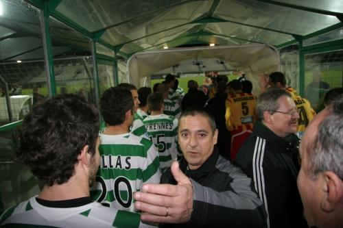 Royal à l'extérieur, le FC Sète a par contre un peu trop le sens de l'hospitalité au Louis-Michel... (photo N. Deltort)