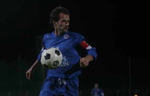 Philippe Delaye, ici sous le maillot d'équipe réserve du MHSC (photo N.Deltort)