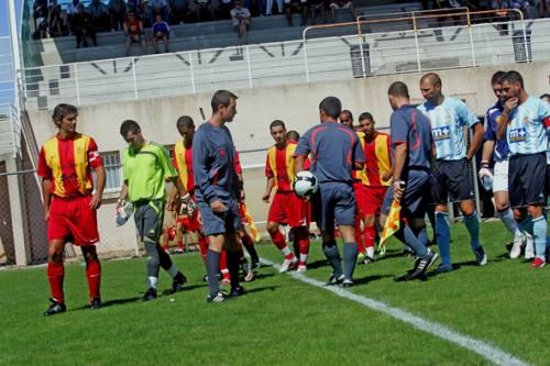 Première journée de Division d'Honneur : AS Fabrègues - Perpignan Méditerranée, 30 août 2009 (photo N. Deltort)