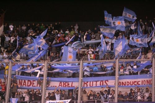 Les supporters argentins (photo N. Deltort)