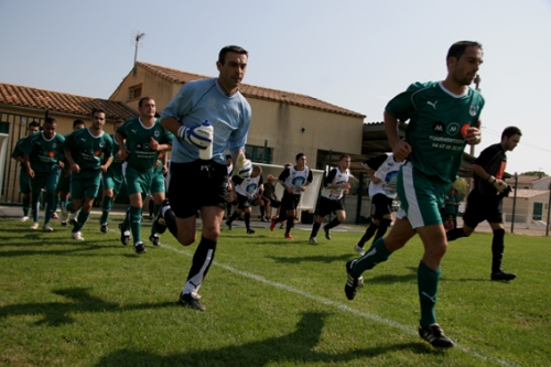 RSC Cournonterral vs GC Lunel (30 sept 2009) - photo N.D.