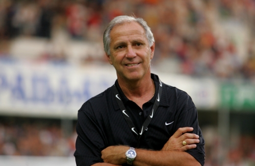 René Girard au stade de la Mosson (photo N. Deltort)