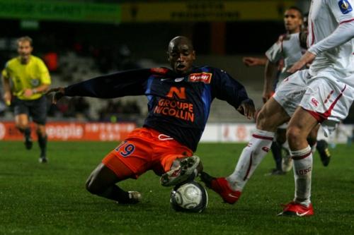 Souleymane Camara l'attaquant du MHSC (© N. Deltort)